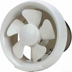 Glass exhaust fan