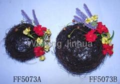 artificial flower nest,b