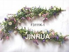 artificial flower garland,wildflower garland