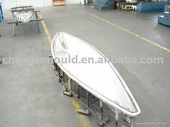 PE kayak mould