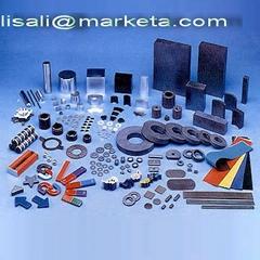 Ferrite magnet, NdFeB magnet, Rubber magnet, Alnico magnet, Plastic magnet ect.