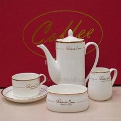 Bone porcelain coffee