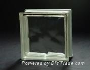 Glass block (cloudy design)