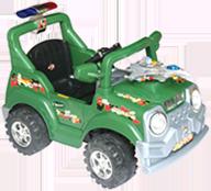 带遥控电动童车—野战车