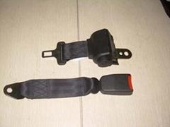 three-point safety belt