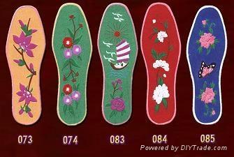 鞋垫专用绣花机 1