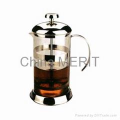 coffee press / french press / coffee maker