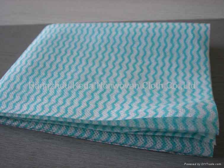Spunlace nonwoven fabric Wave printing type 5