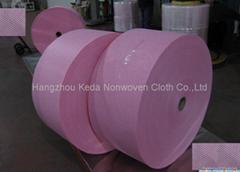 Spunlace nonwoven fabric Diamond printing type