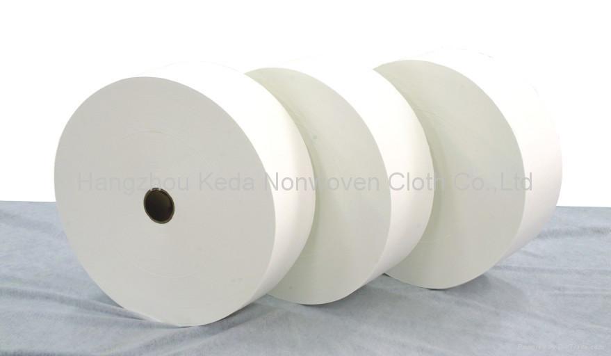 Spunlace nonwoven fabric Diamond printing type 4