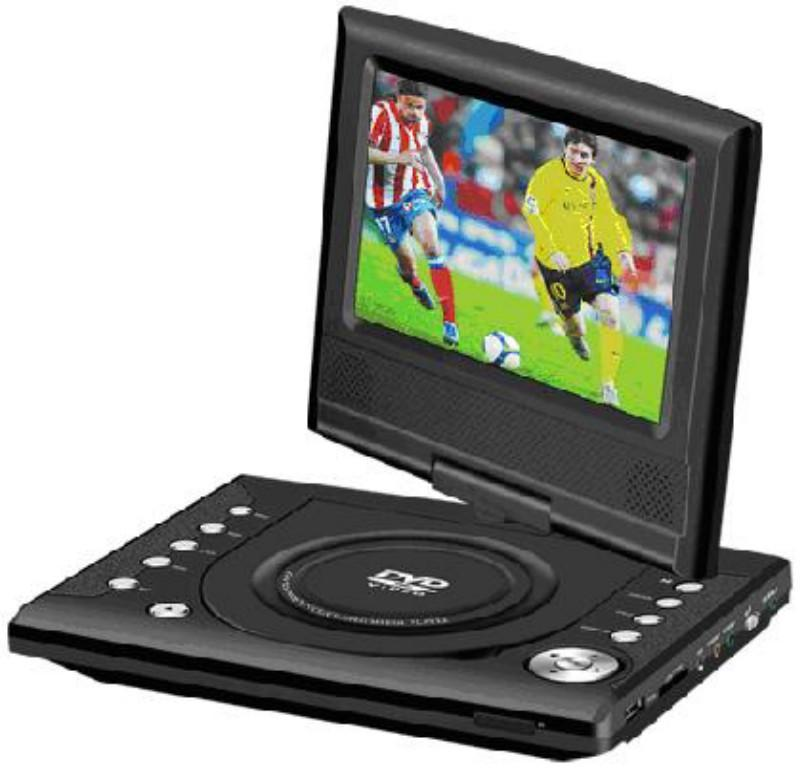 7inch portable dvd player 1