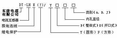 零序电流互感器 2