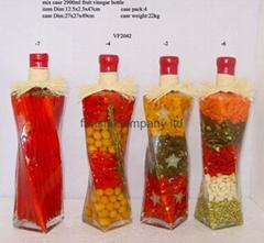 fruit vinegar bottle