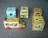 Wooden Block-Boxes