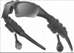 Sunglasses with mp3 player