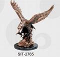 plated eagle