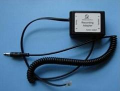 telephone recording adapter-computer