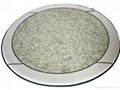 Korean Design Natural Jade Heaitng Mattress Round