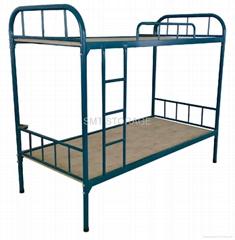 Steel dorm bunk bed for school