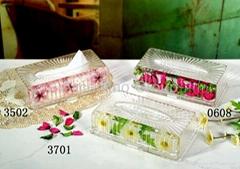 Acrylic Tissue Box, Napkin box, Toilet paper box