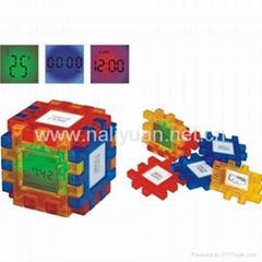 colorful cube calendar