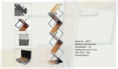 Archive Rack-ortable Brochure Stand-Square