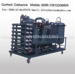 Vacuum Oil Purifier For Emulsified Lubricating Oil, Hydraulic Oil