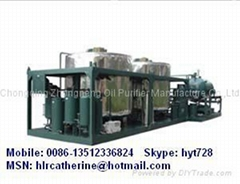 Supplying Vacuum Engine Oil Purification&Recycling System