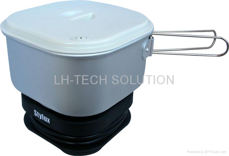 Dual-voltage travel cooker 1