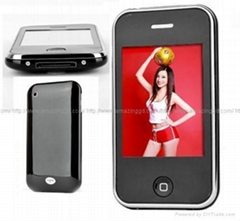 2.8 Inch Fashion Style Touch Screen MP4/MP3 Player with Digital Camera