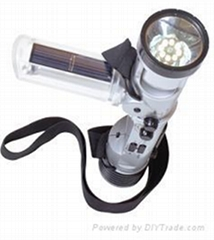 crank dynamo flashlight radio