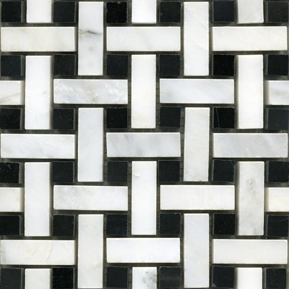 Marble Mosaic Basketweave Pattern Omni Global China