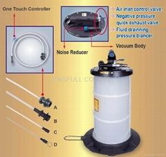 气动人工操作流体提取机油器