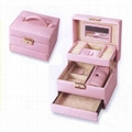 PU Leather Jewelry Box