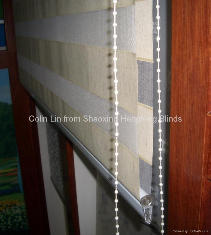 Sheer Two-Layer Zebra Roller Blind