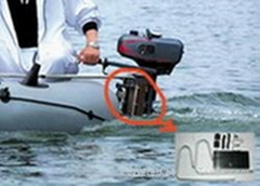 inflatable boat bracket