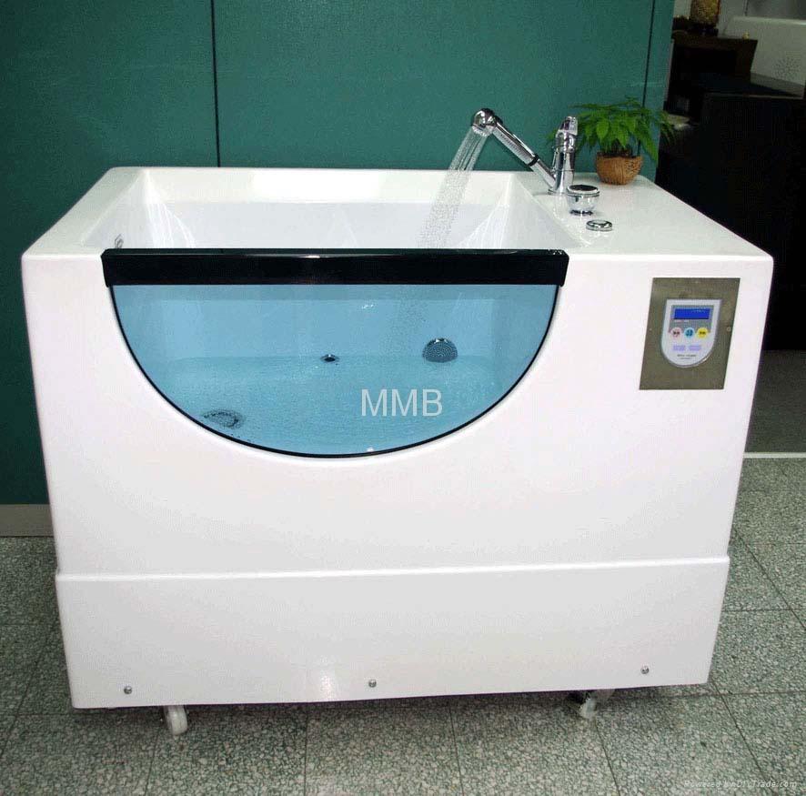 Top pet spa micro bubble bathtub mmb taiwan for Diy dog bathing system