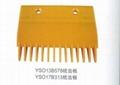 Escalator Comb and Demarcations