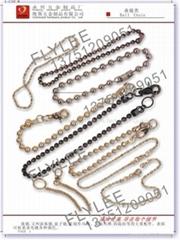 2.4*10 ball chain,iron nickel plate
