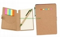 Sticky notes set with ECO friendly cover