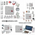 32 zones wireless burglar alarm system