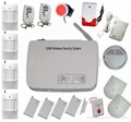 GSM Wireless burglar alarm