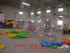 供应0579-87368316厂价批发水上步行球1800元.