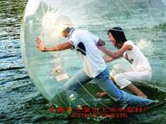 厂家批发水上步行球,水上运动步行球直销