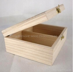 Wooden Box for Tea Set