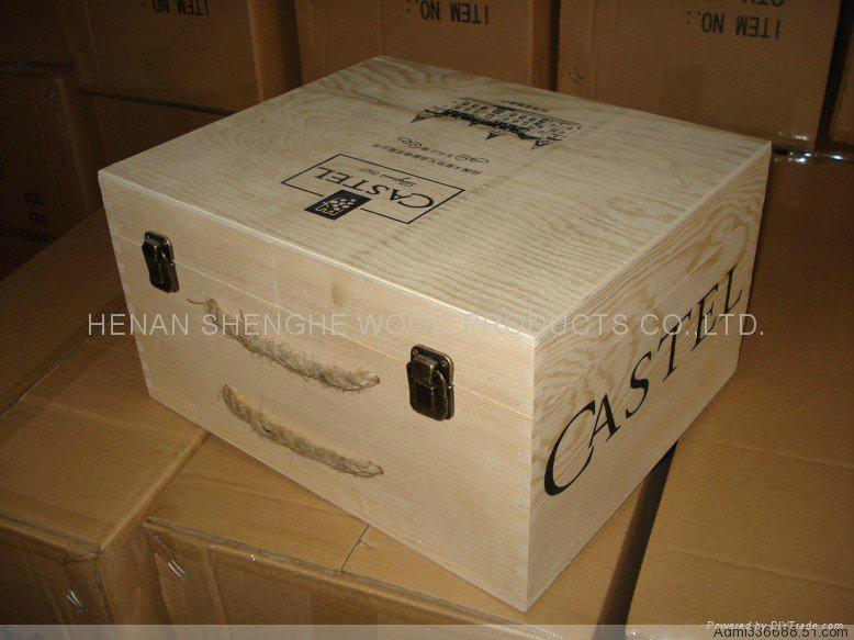 木制葡萄酒箱