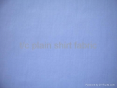 t/c plain shirt fabric