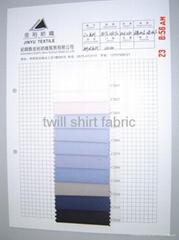 twill shirt fabric