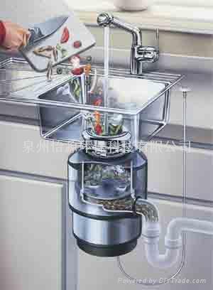 爱适易(INSINKERATOR)食物垃圾处理机 2