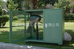 户外捕蚊机钢制防护箱(百叶箱)
